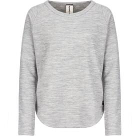 super.natural Knit Sweat-shirt de survêtement Femme, ash melange
